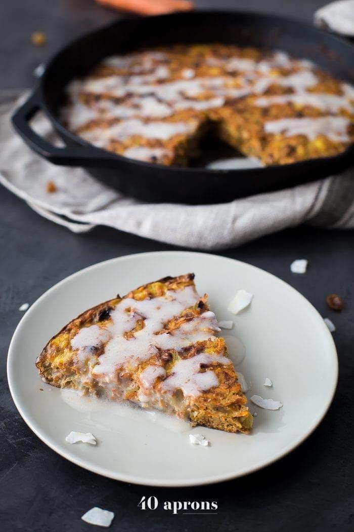 Paleo Apple Carrot Cake