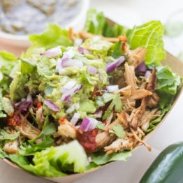Chipotle Copycat Whole30 Carnitas Bowl