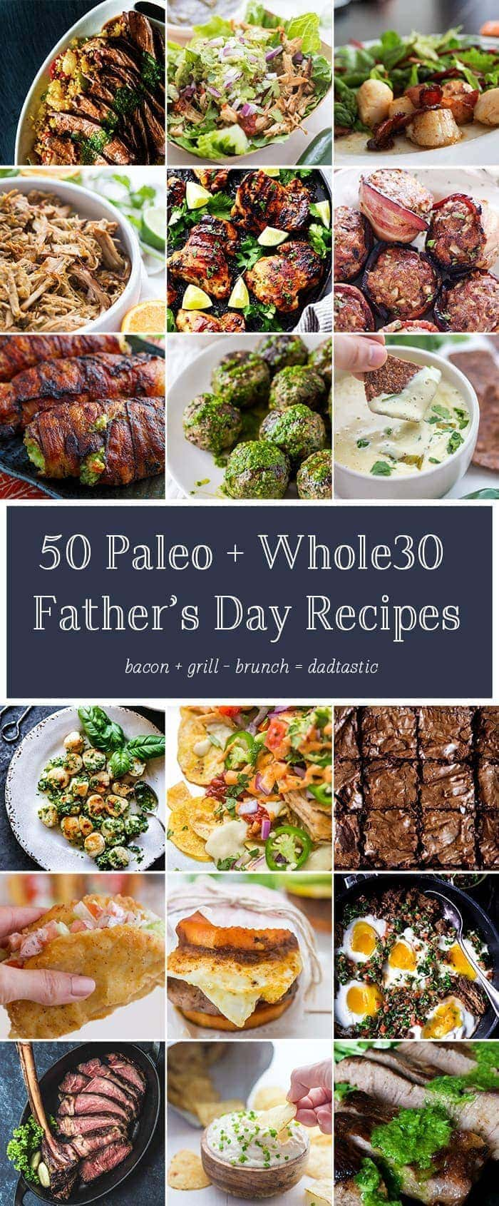 50 Paleo Father S Day Recipes Whole30 40 Aprons