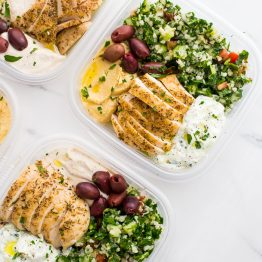 Greek Healthy Meal Prep (Paleo and Whole30 Meal Prep Options)