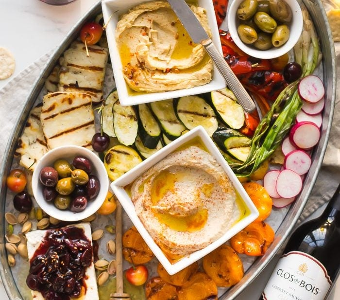 Healthy Greek Appetizer Platter (Healthy Appetizers)