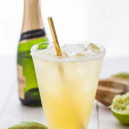 Paleo Margaritas with Champagne (Easy!)