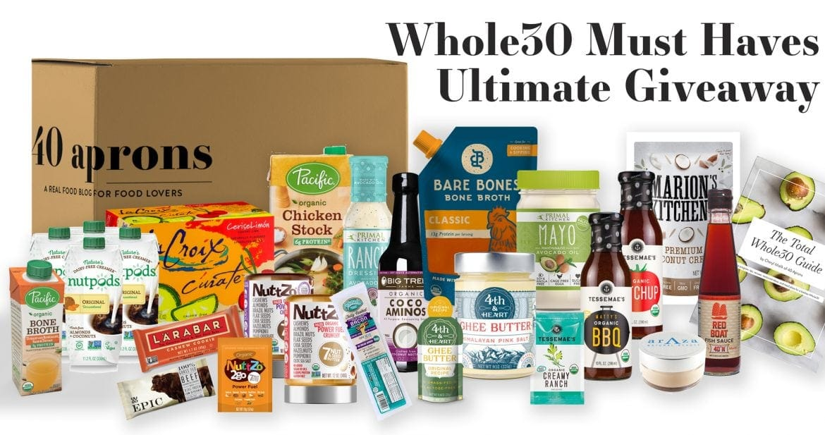 24 Whole30 Breakfast Recipes + Ultimate Whole30 Must-Haves Giveaway