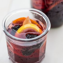 This paleo sangria is just like an authentic Spanish-style sangira but made with healthier ingredients. It's sweet, strong, and delicious, just like a paleo sangria should be! You'll love this paleo sangria because it's so easy to make ahead and only takes a few minutes to prepare, but it'll become an absolute favorite with your friends. But be warned: this paleo sangria can be strong!