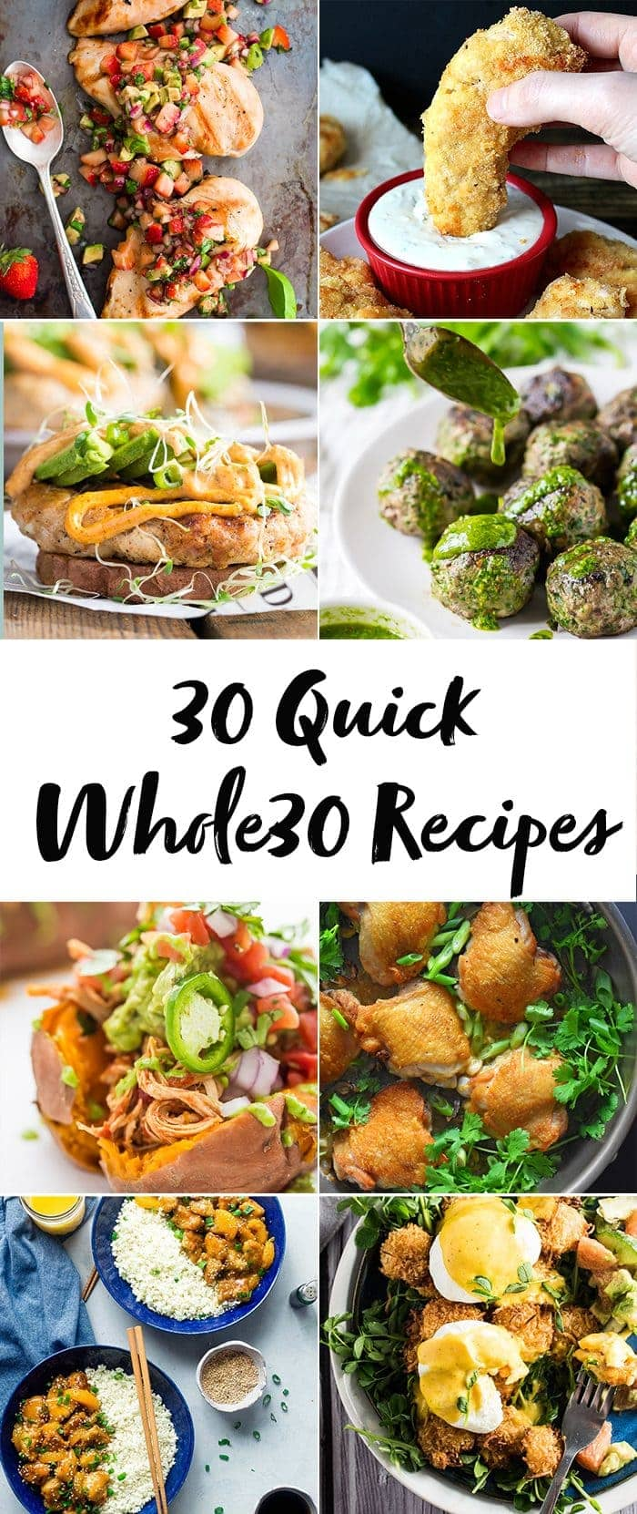 30 Quick Whole30 Recipes (Whole30 Dinner Recipes