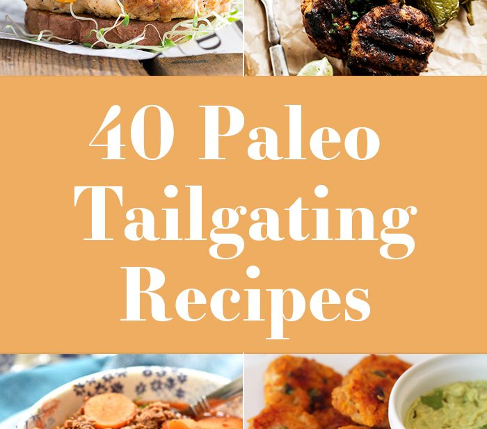 I've compiled the 40 best paleo tailgating recipes to make this football season epic! Dairy-free, gluten-free, grain-free, and refined-sugar-free, these paleo tailgating recipes make awesome snacks and can be combined for a killer game-watching experience. Check out these 40 best paleo tailgating recipes!