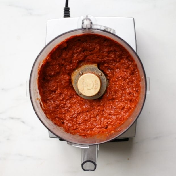 Want to learn how to make harissa? This harissa recipe is spicy, smoky, and garlicky, and it tastes so, so good on pretty much everything. With only a few ingredients, learning how to make harissa is a cinch! Make sure you check out my how to make harissa video, too