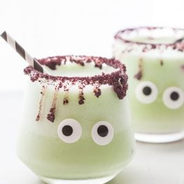 Monsteritas Healthy Halloween Margaritas (Cucumber Jalapeño)