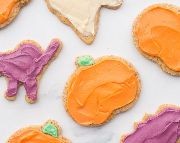 Paleo Halloween Cookies (Gluten Free, Grain Free, Refined Sugar Free)