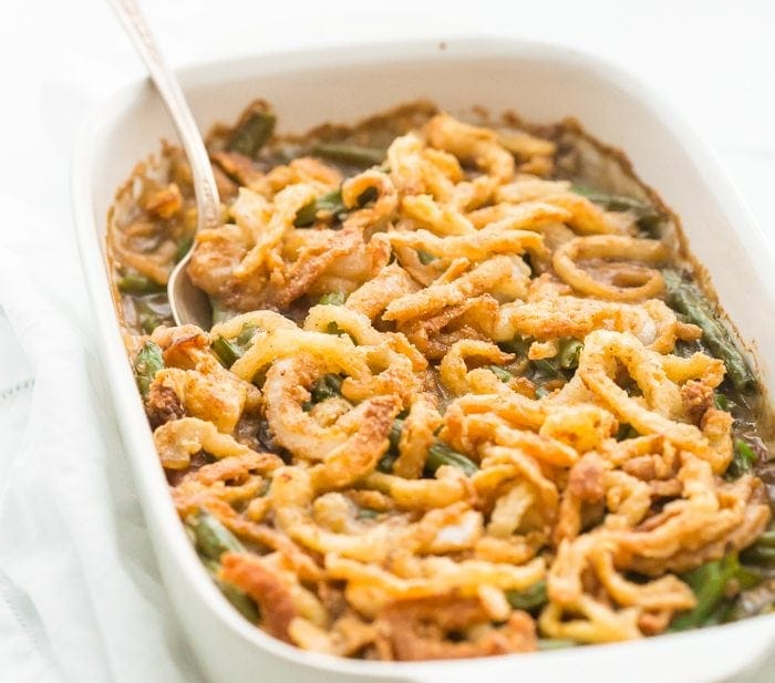 Whole30 Green Bean Casserole (Paleo, Grain-Free, Dairy-Free)