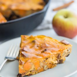 Whole30 Pumpkin Breakfast Bake (Sweet Potato, Apple, Vanilla Bean) | Paleo