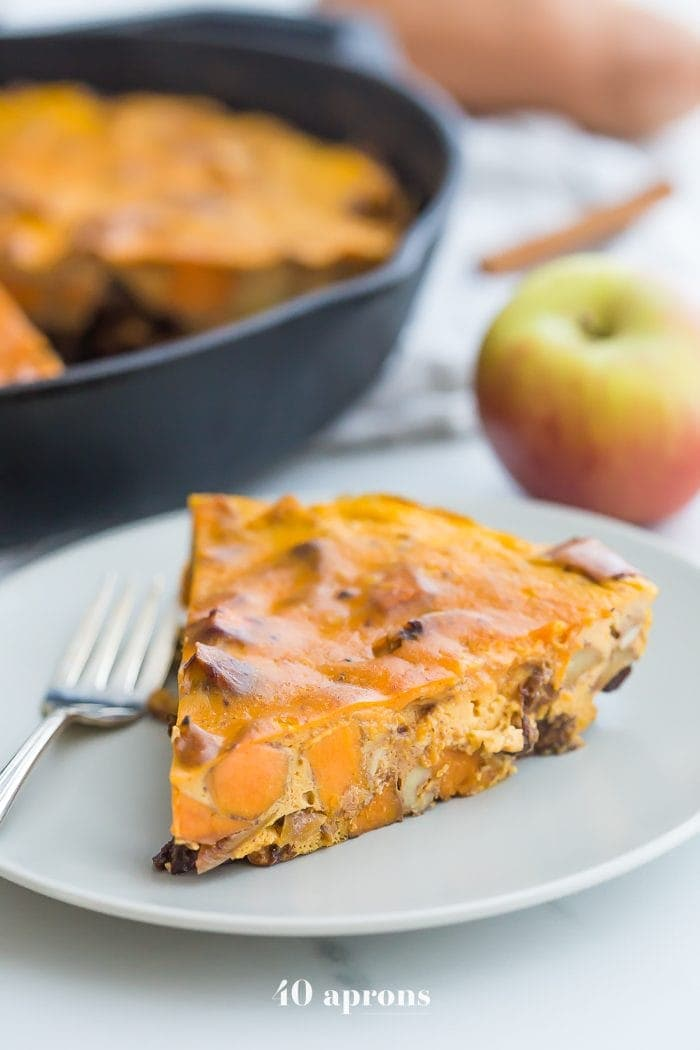 Whole30 pumpkin breakfast bake