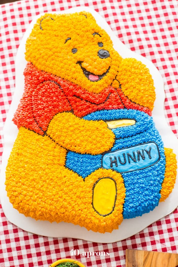 This DIY Winnie the Pooh birthday party is too cute! With tons of Winnie the Pooh birthday party ideas, this is your Winnie the Pooh birthday party guide. Happy birthday, little one! It'd make a great Winnie the Pooh baby shower, too.