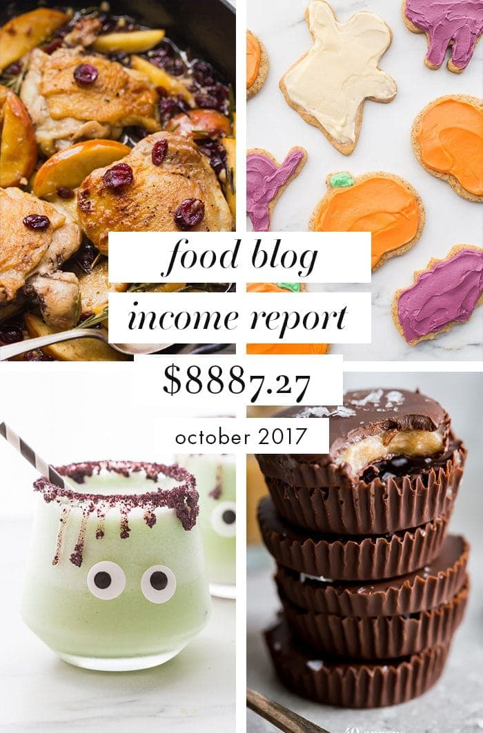Food blog income report and traffic october 2017 40 aprons this is our food blog income report for october 2017 this food blog income report forumfinder Images