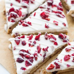 Paleo Cranberry Bliss Bars (Vegan Cranberry Bliss Bars) [Grain & Gluten-Free]