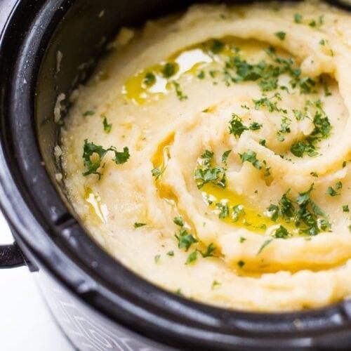 Crockpot mashed potatoes
