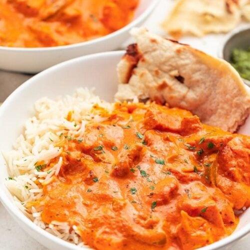 Best Ever Restaurant Style Chicken Tikka Masala