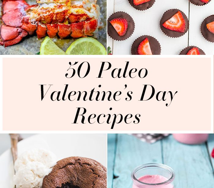 50 Paleo Valentine's Day Recipes