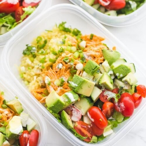Healthy One Pot Meals 6 Easy Diabetic Dinner Recipes: Buffalo Chicken Whole30 Meal Prep (Whole30 Meal Prep