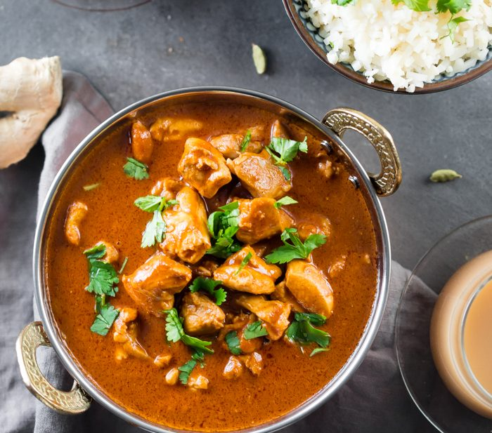 Whole30 Indian Butter Chicken (Lactose-Free)