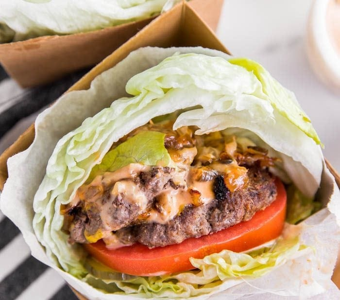 Whole30 In N Out Burgers: Double Double Animal Style (Paleo)