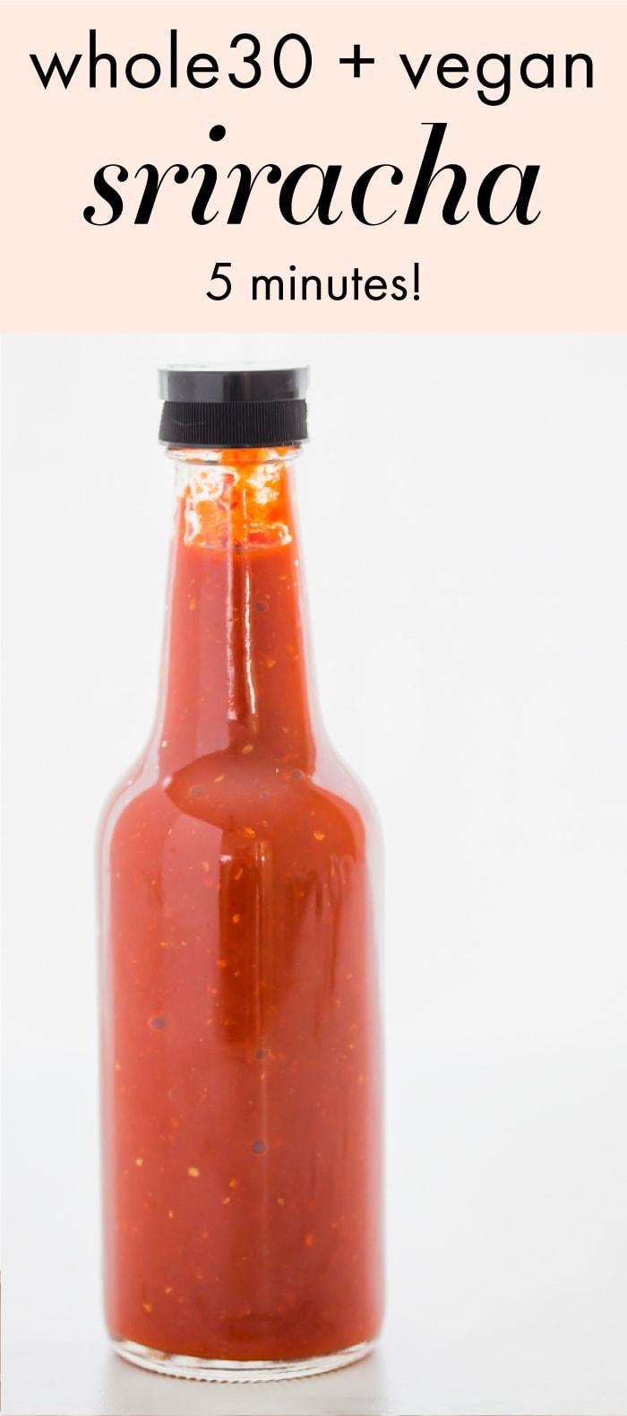 Whole30 Sriracha (Paleo, Vegan, Sugar Free, Fermented ...