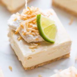 No Bake Margarita Bars (Paleo, Vegan)