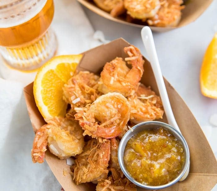 Whole30 Coconut Shrimp with Orange Sauce (Paleo, Outback Copycat)
