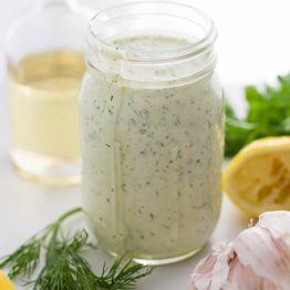 Whole30 Dump Ranch Dressing (Our Favorite! Paleo, Dairy-Free)