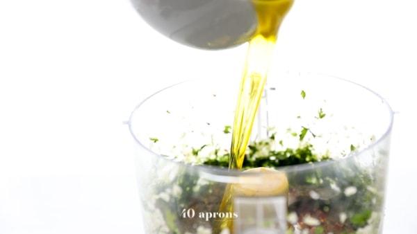 Add remaining chimichurri recipe ingredients
