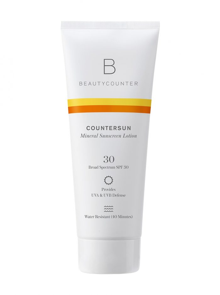 Beautycounter Countersun Mineral Sunscreen Lotion 30 SPF on a white background