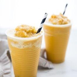 Frozen Golden Milk Turmeric Frappuccino (Paleo, Vegan, Anti Inflammatory)