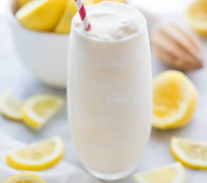 Healthy Chick Fil A Frosted Lemonade Recipe (Paleo, Vegan)