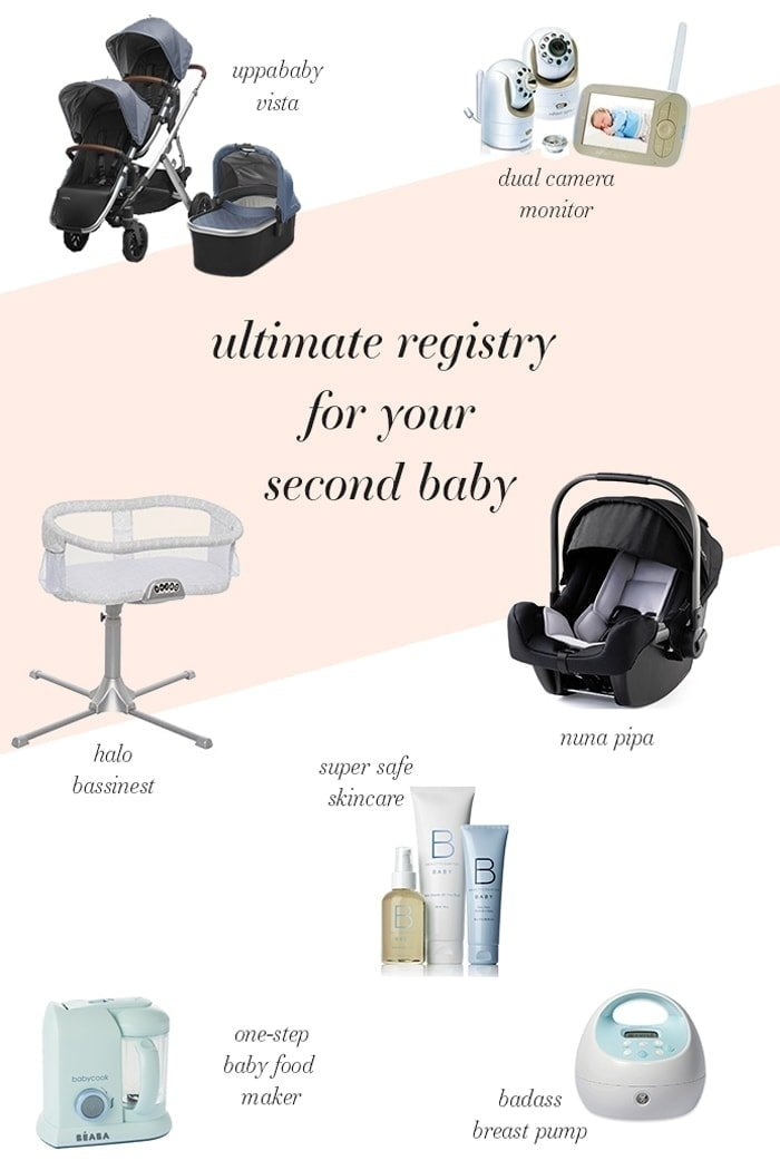 Ultimate baby registry for second baby