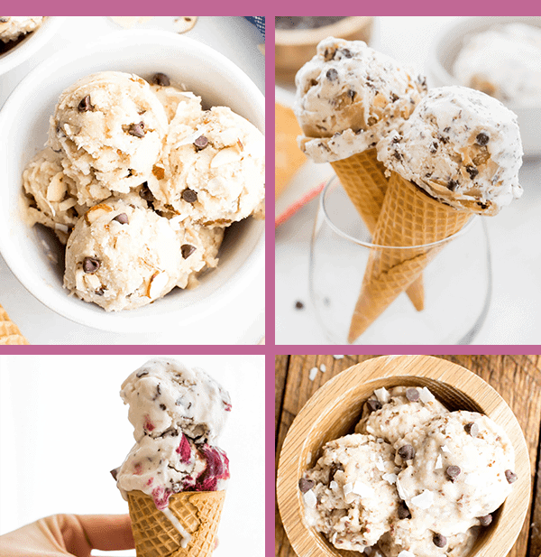 Compilation of 30 paleo ice cream recipes