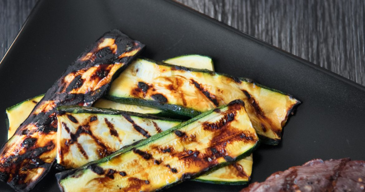 Orange Glazed Grilled Zucchini (Paleo, Gluten Free)