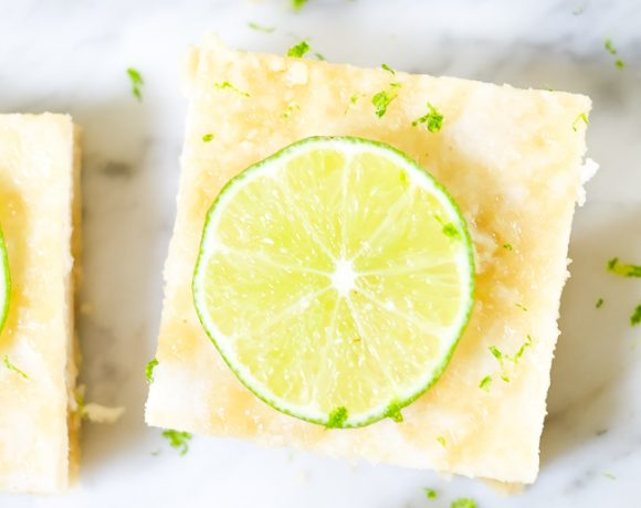 Paleo Lime Bars (Gluten-Free, Grain-Free, Refined Sugar-Free)