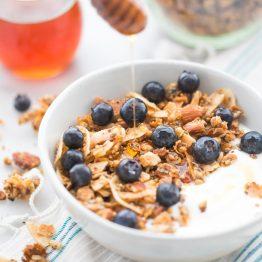 Crunchy Paleo Granola Recipe (Vegan)