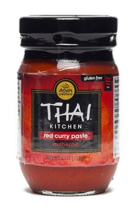 Red curry paste for tom kha soup