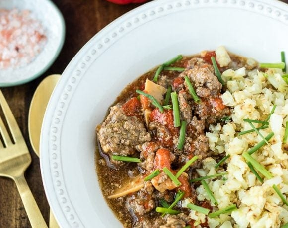 Instant Pot Beef with Peppers (Whole30, Paleo, Keto)