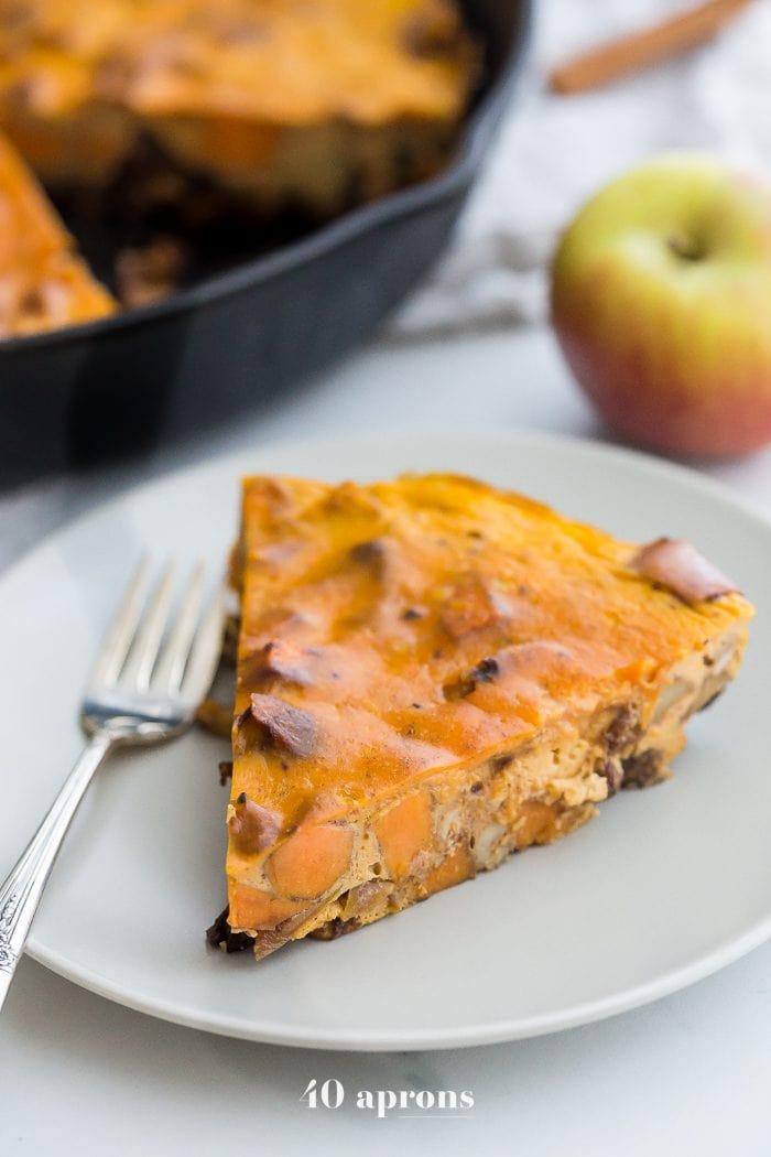 Whole30 pumpkin breakfast bake