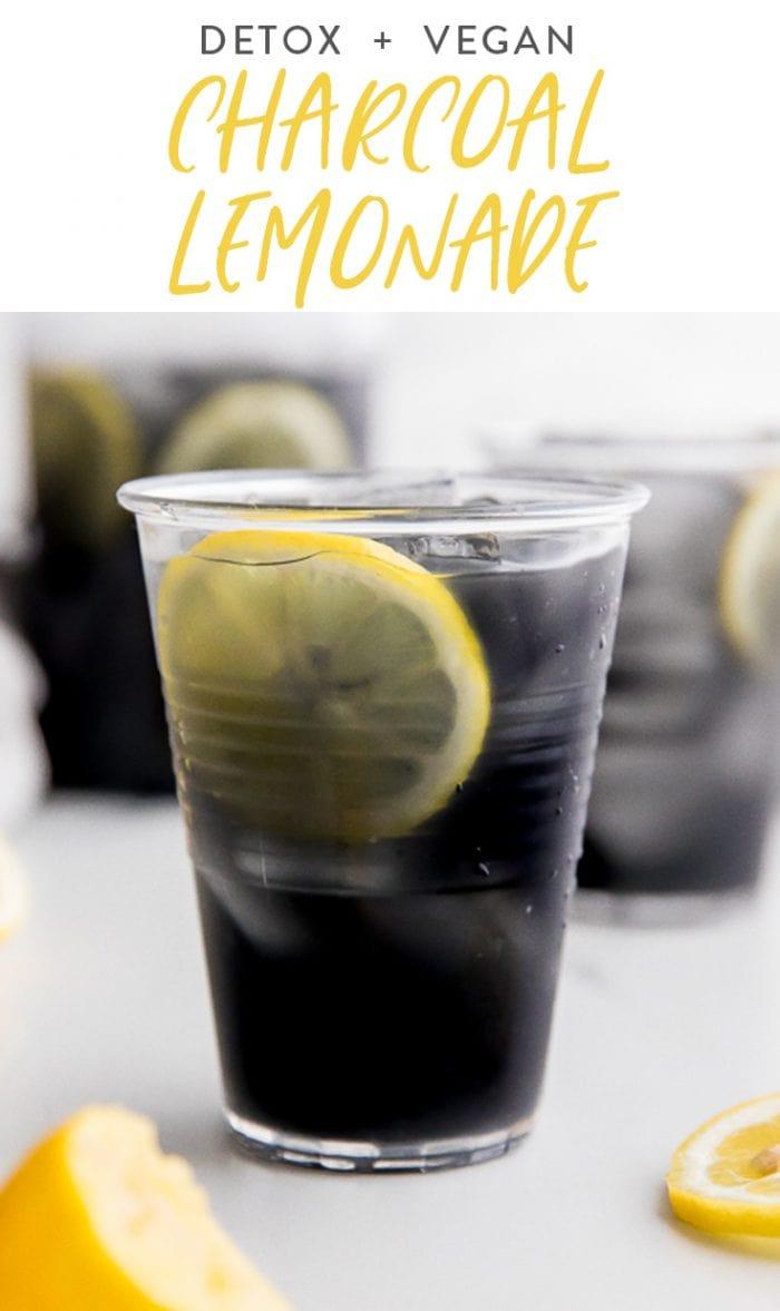 Charcoal Lemonade Pinterest graphic