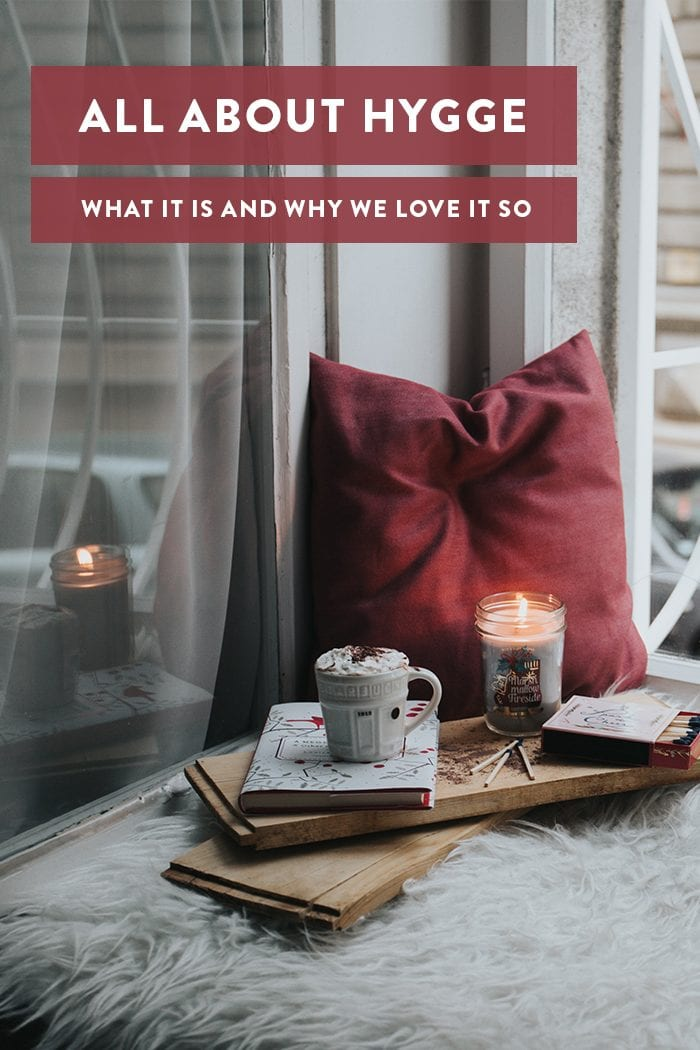 All About Hygge Pinterest graphic