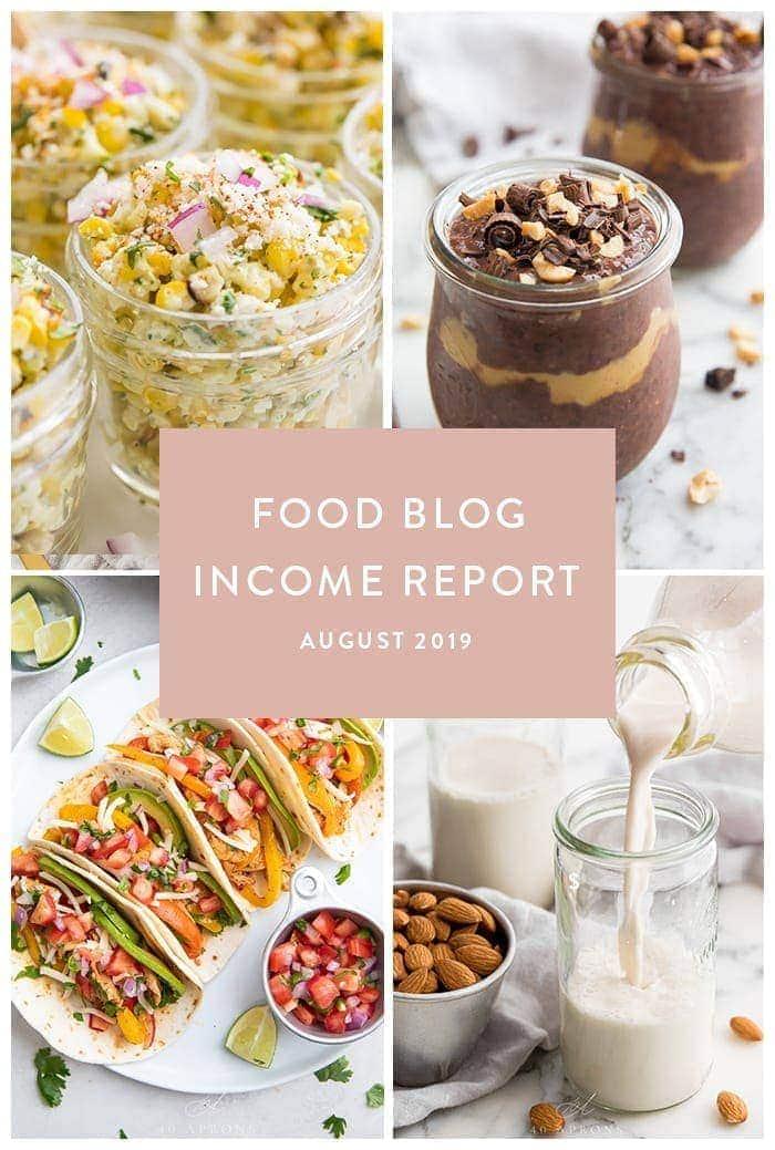 Income report graphic