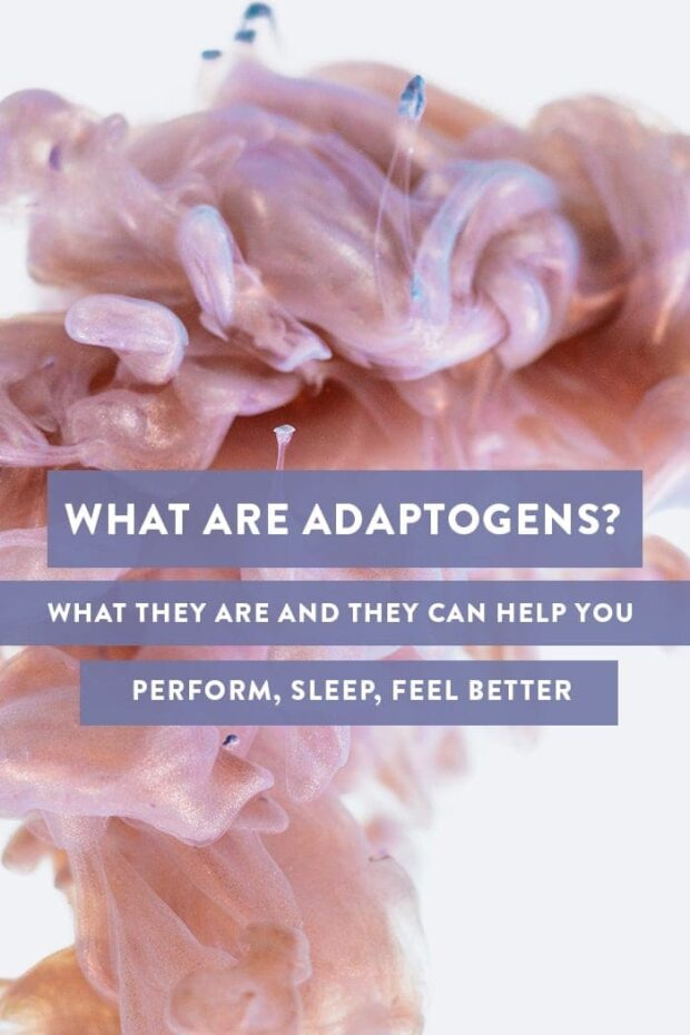 What are adaptogens and which adaptogens are best Pinterest graphic