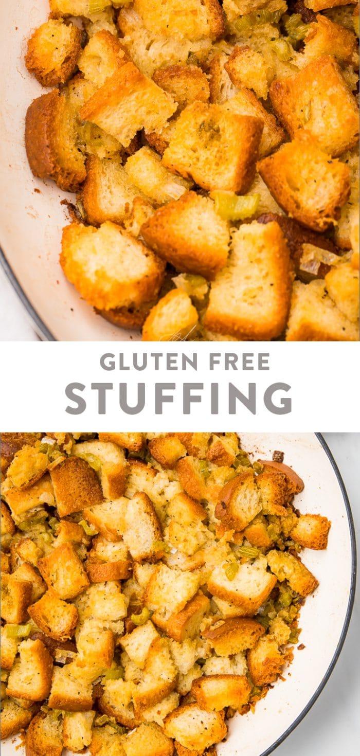 Gluten Free Stuffing Pinterest graphic
