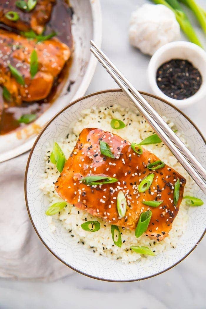 Teriyaki Salmon Whole30 40 Aprons