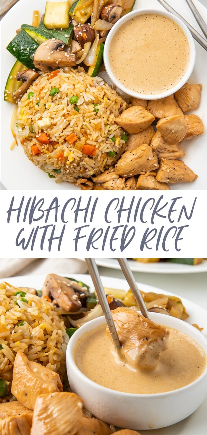 Hibachi Chicken and Fried Rice Pinterest