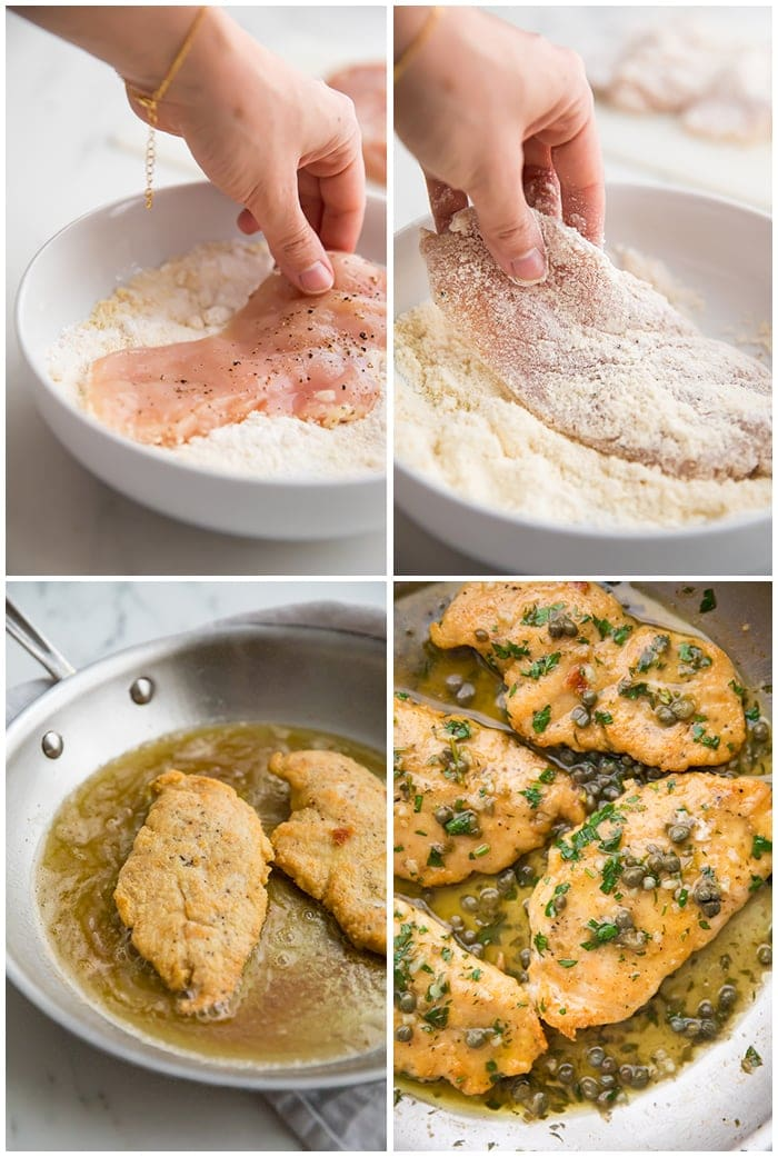 Instructions for chicken piccata