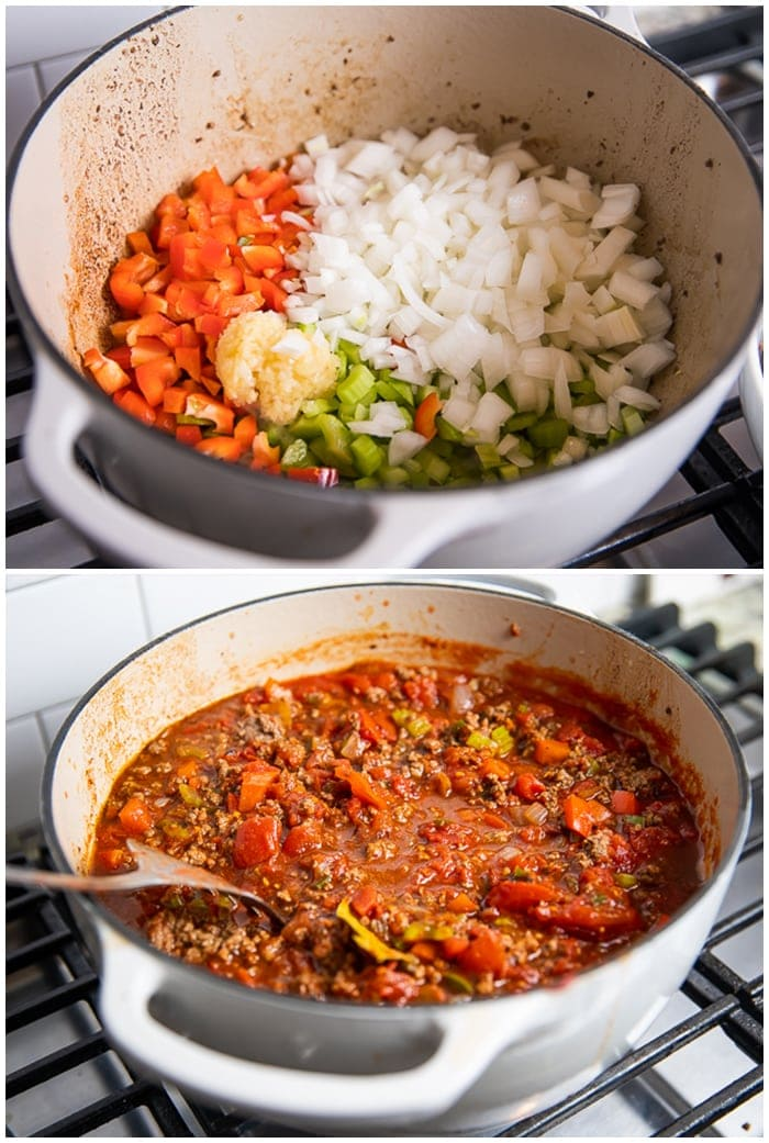 Instructions for Whole30 chili